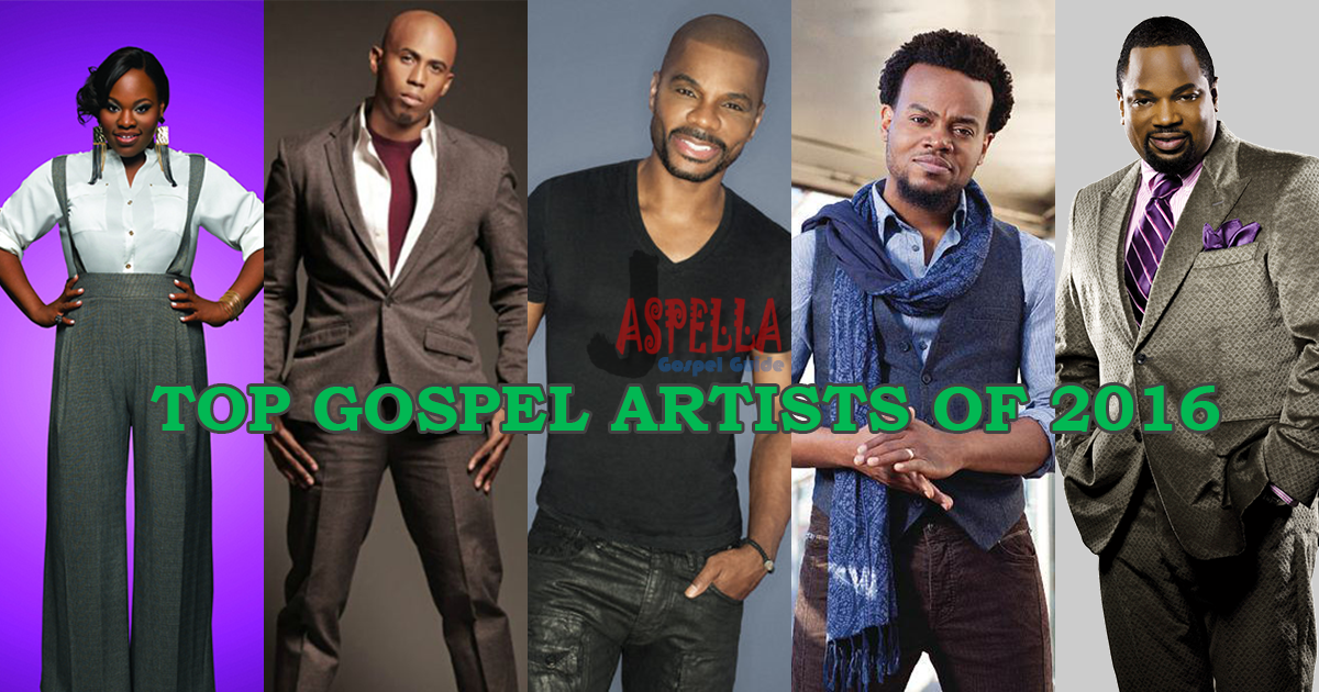 Top Gospel Artists of 2016