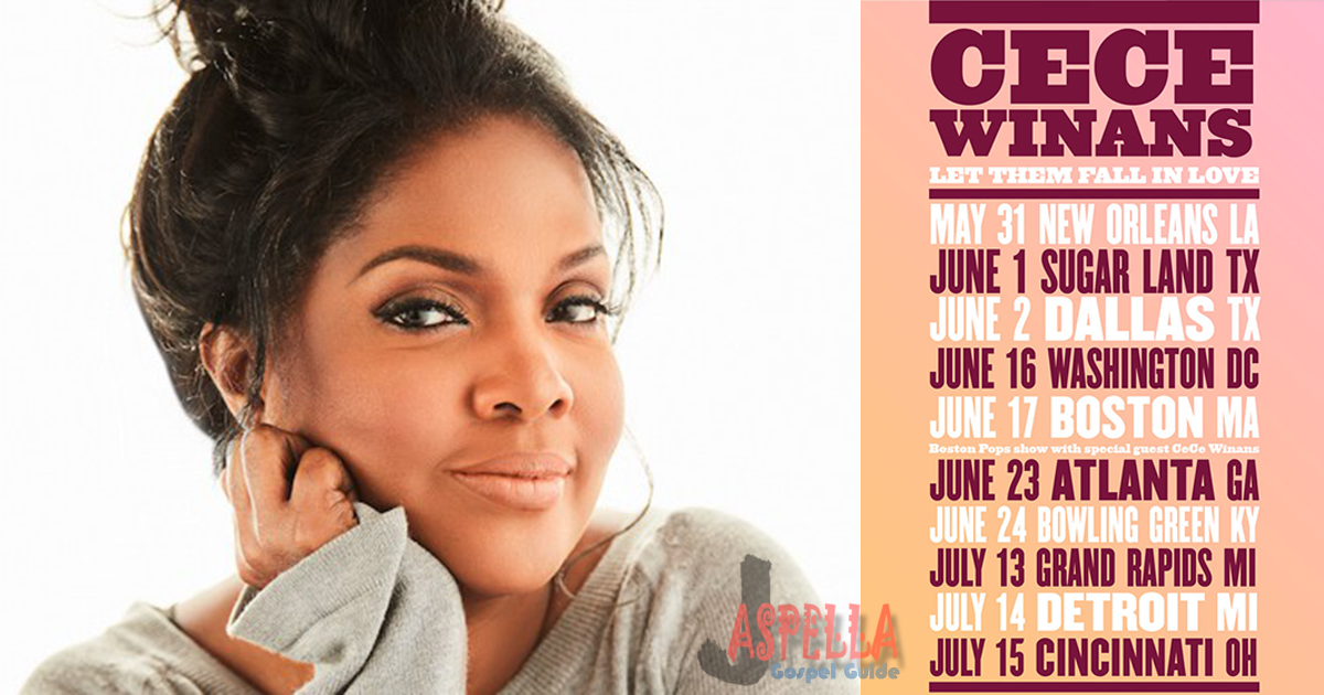 CeCe Winans - Fall In Love Tour