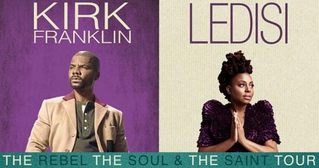 Kirk Franklin & Ledisi 2017 tour